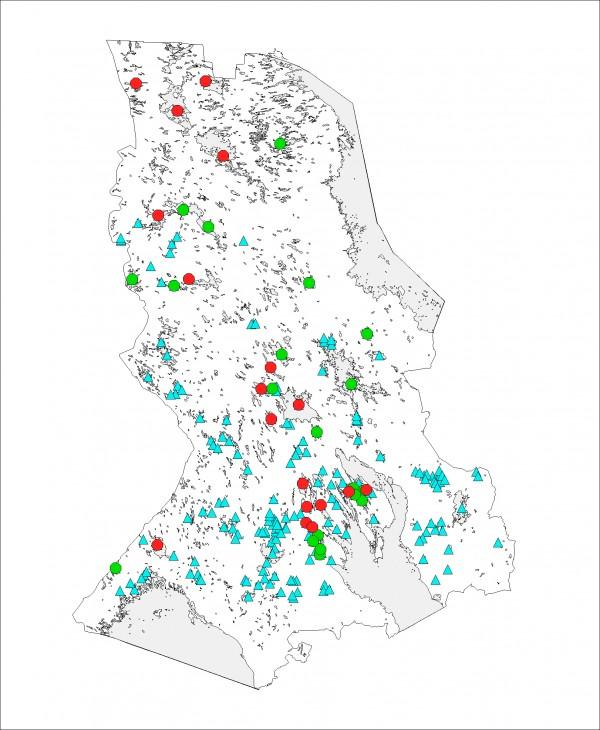 карта глубин озера янисъярви скачать